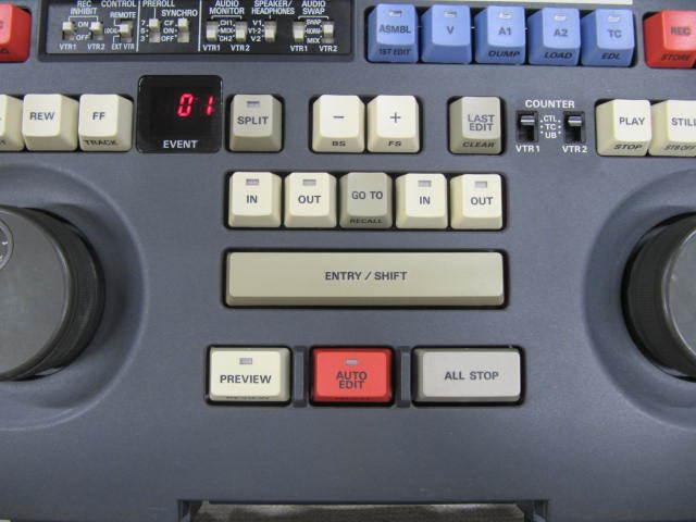 ジャンク Panasonic DVCPRO AJ-LT85 ラップトップエディター パナソニック_画像3