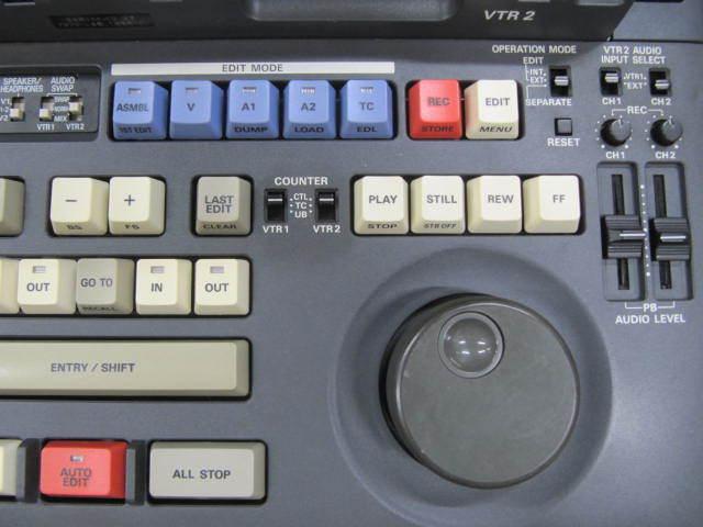 ジャンク Panasonic DVCPRO AJ-LT85 ラップトップエディター パナソニック_画像4