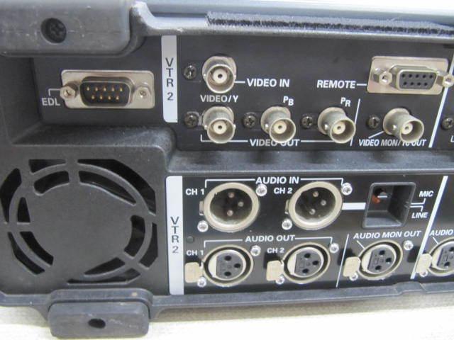 ジャンク Panasonic DVCPRO AJ-LT85 ラップトップエディター パナソニック_画像5