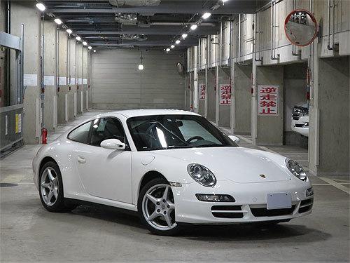☆2007年モデル ポルシェ 997 911 カレラ4 キャララホワイト ディーラー整備 売り切ります☆