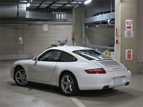 ☆2007年モデル ポルシェ 997 911 カレラ4 キャララホワイト ディーラー整備 売り切ります☆_画像2