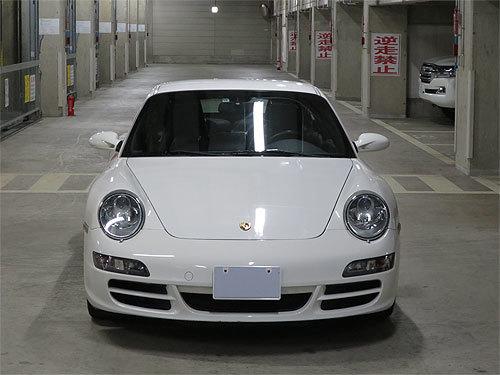 ☆2007年モデル ポルシェ 997 911 カレラ4 キャララホワイト ディーラー整備 売り切ります☆_画像4