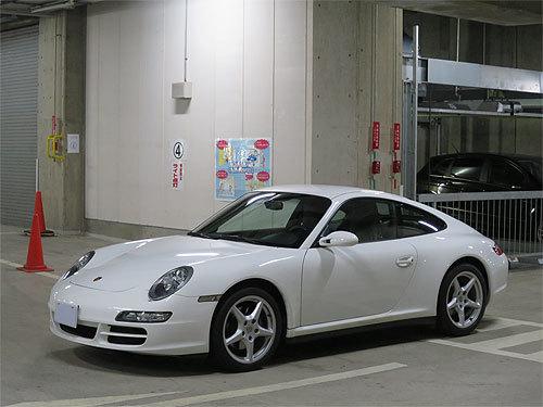 ☆2007年モデル ポルシェ 997 911 カレラ4 キャララホワイト ディーラー整備 売り切ります☆_画像9