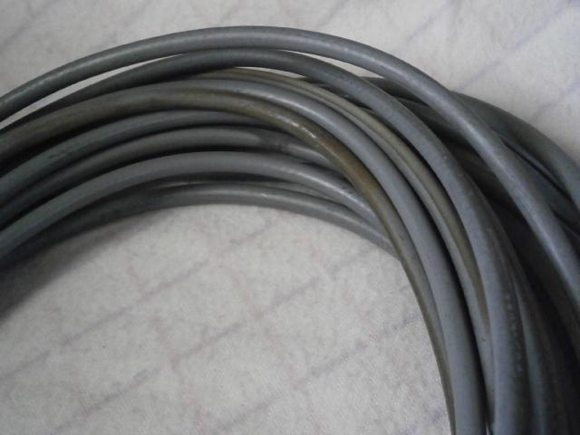 フジクラ製5D2V同軸ケーブル 中古 約14m片側Mコネ付_画像6