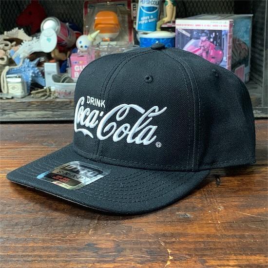 Coke × OTTO Wool Blend Twill Cap BK コカ・コーラ キャップ 帽子_画像2