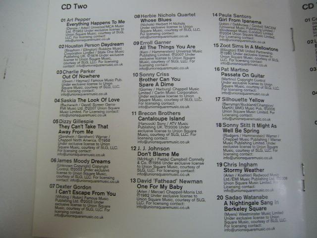 960※中古CD 100% LATE NIGHT JAZZ 5枚組 マイルス・デイビス/渡辺貞夫 など_画像6