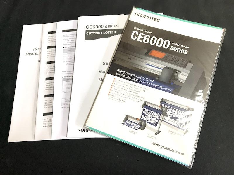 ①1円 GRAPHTEC CE-6000-40 カッティングプロッター b_画像10