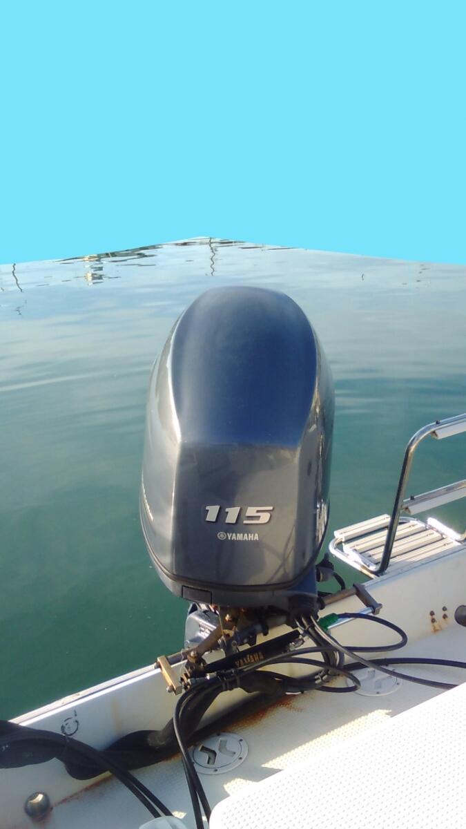 FC23 ヤマハ4スト115馬力 GPS漁探付き 定員10名 【個人出品】大阪府南部_画像4