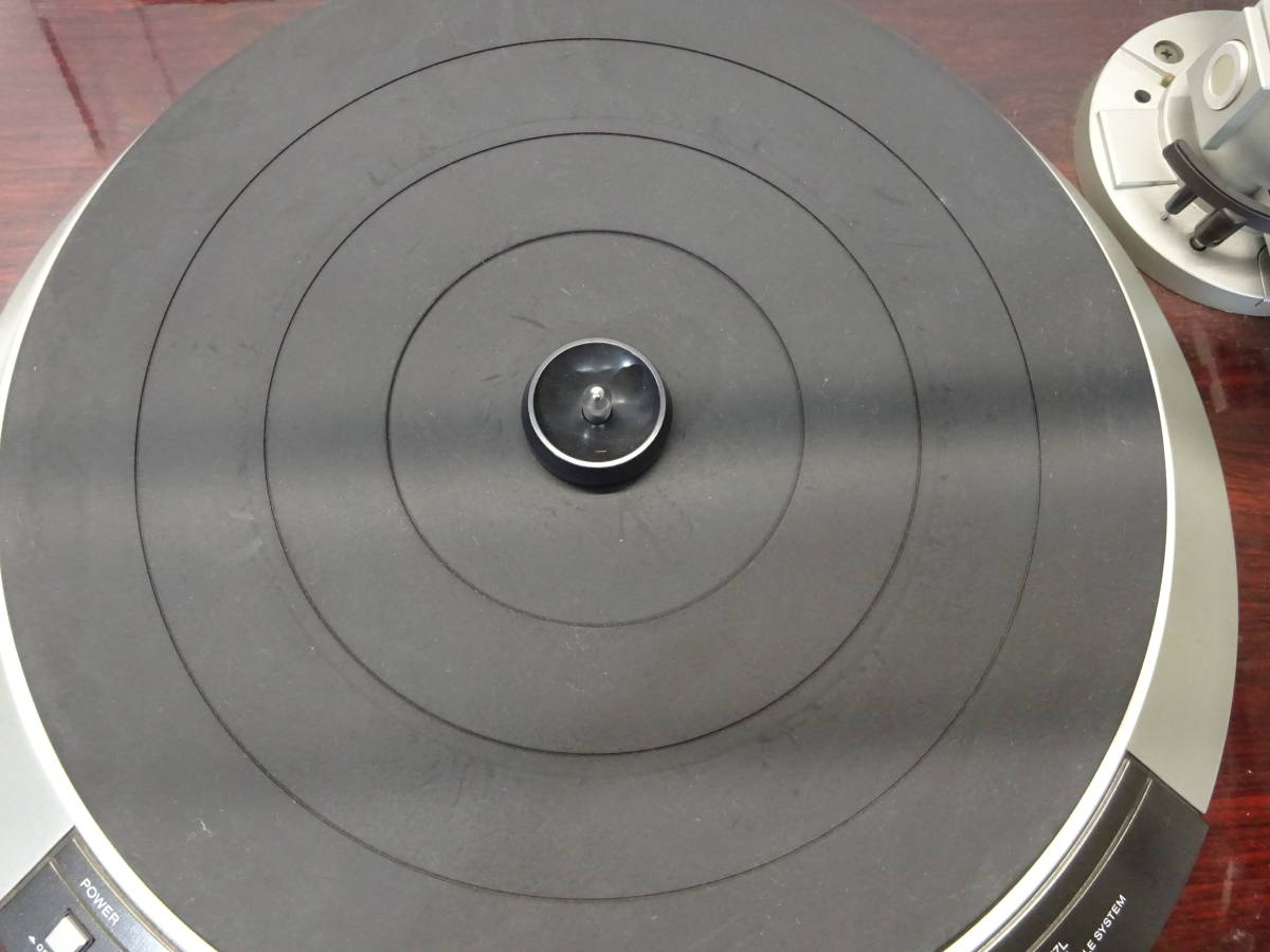 【K51】 DENON デノン レコードプレイヤー DP-57L ターンテーブル 昭和 レトロ ジャンク扱い_画像5