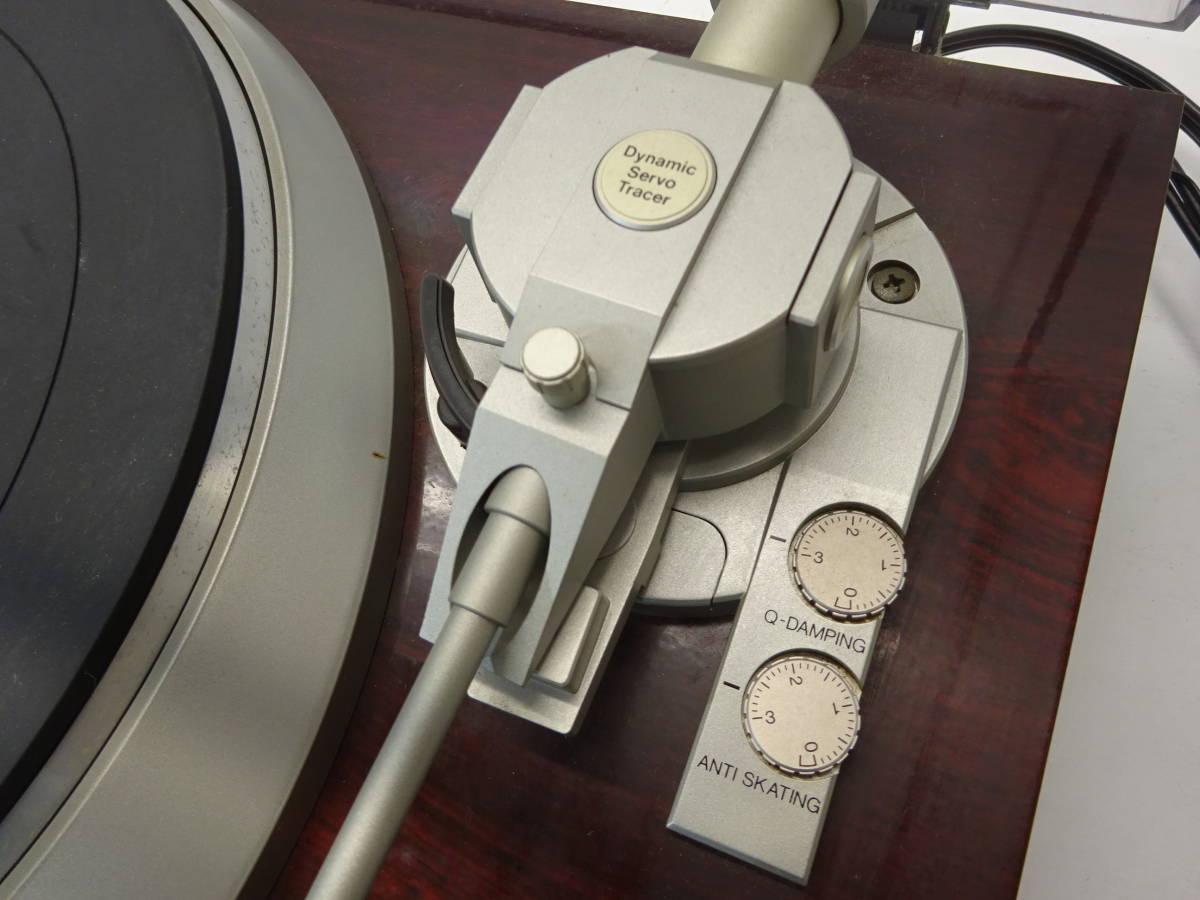 【K51】 DENON デノン レコードプレイヤー DP-57L ターンテーブル 昭和 レトロ ジャンク扱い_画像6