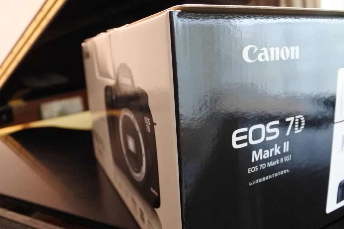 【canon】EOS 7D MarkⅡ ボディ【新品未開封品】
