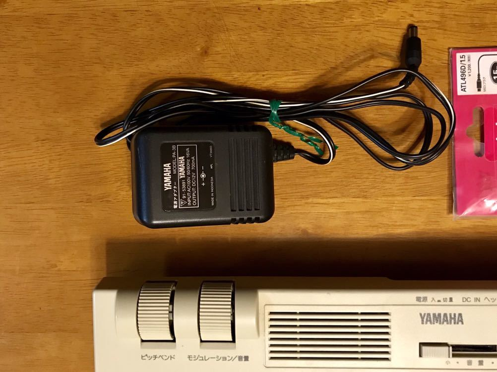 YAMAHA SK1XG MU50相当 MIDI音源内蔵キーボード ( スピーカーX2 内蔵 )_画像4
