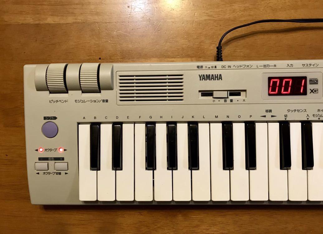 YAMAHA SK1XG MU50相当 MIDI音源内蔵キーボード ( スピーカーX2 内蔵 )_画像8