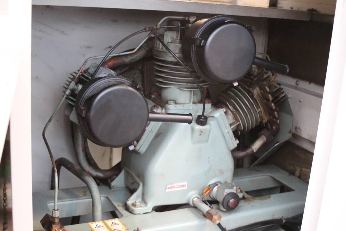 日立 PB-11M5 パッケージコンプレッサー パッケージコンプレッサー 動作品_画像6