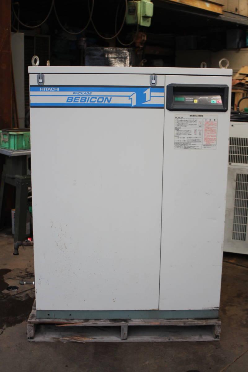 日立 PB-11M5 パッケージコンプレッサー パッケージコンプレッサー 動作品