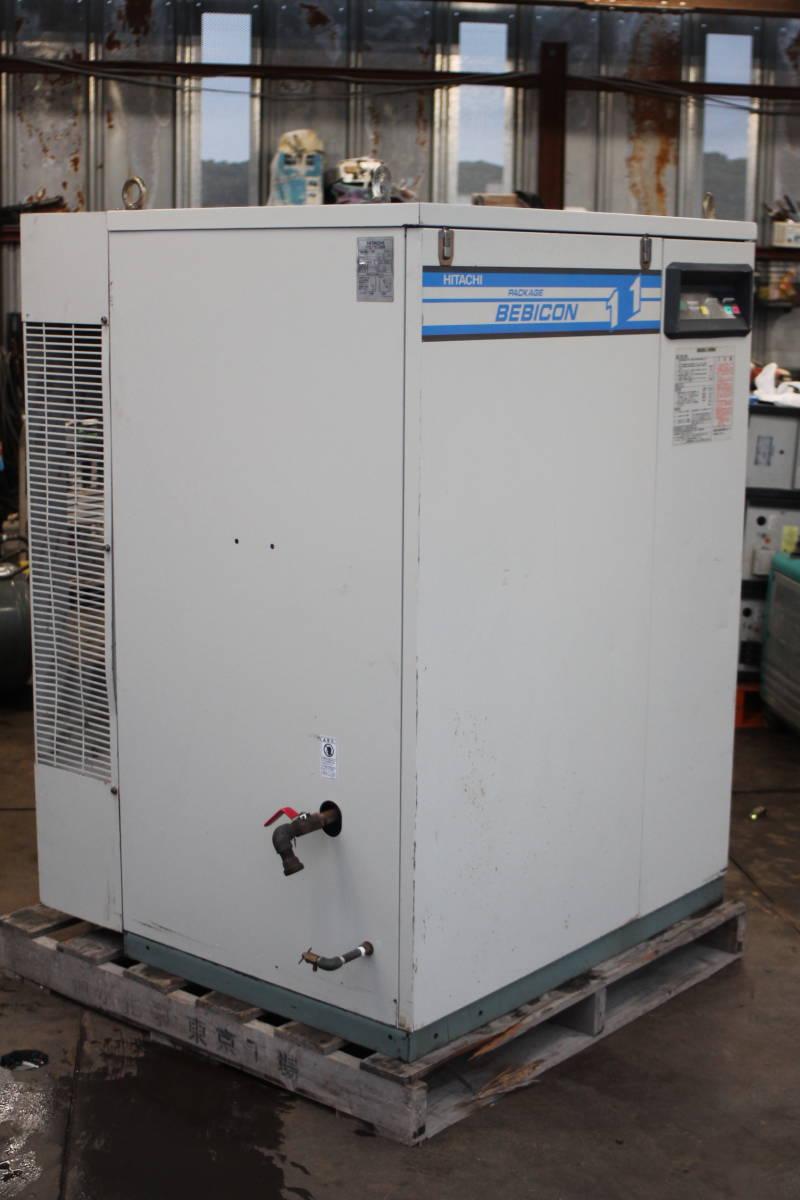 日立 PB-11M5 パッケージコンプレッサー パッケージコンプレッサー 動作品_画像3