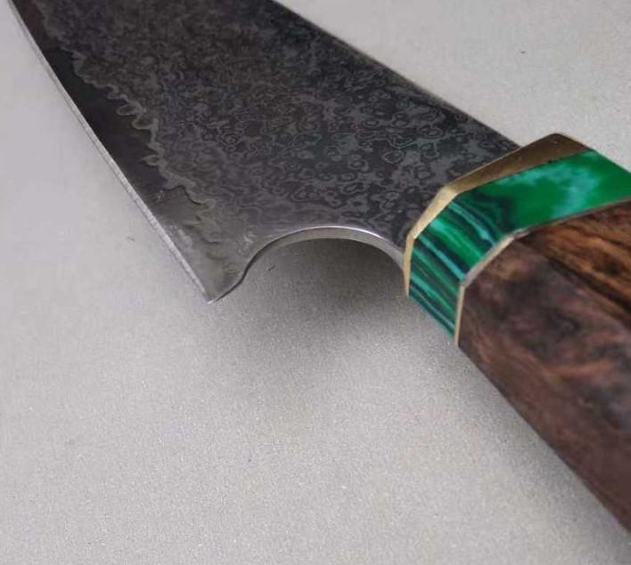 激レア!手作り鍛造 鋼 出刃包丁 鉄が泥のように切れる鋭い 和包丁 料理刺身包丁 刃物 調理器具 切れ味抜群万能包丁_画像2