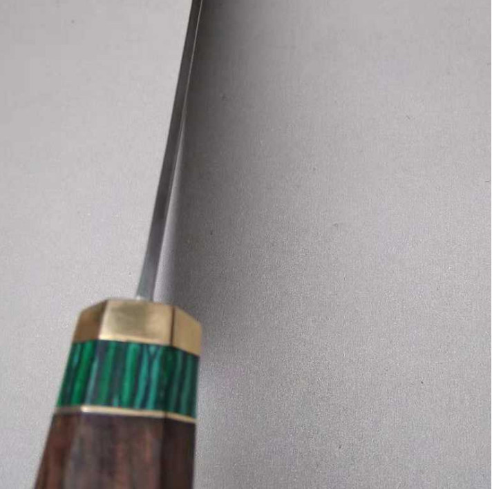激レア!手作り鍛造 鋼 出刃包丁 鉄が泥のように切れる鋭い 和包丁 料理刺身包丁 刃物 調理器具 切れ味抜群万能包丁_画像7