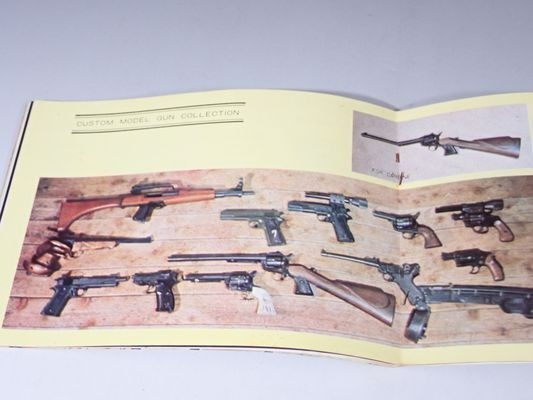 KA49◆【貴重】MGC 当時物 モデルガン入門Ⅰ VISER 1968年5/1発行 資料 カタログ チラシ 昭和 送:B/60_画像8