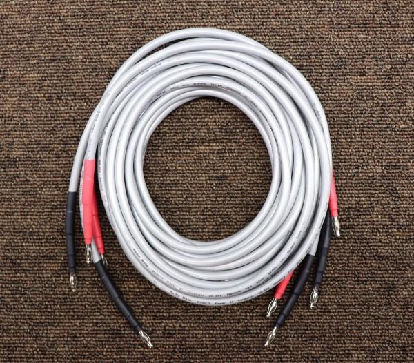 送料無料美品 Audio Note オーディオノート AN-SPx SILVER 銀線 スピーカーケーブル 2.5m ペア