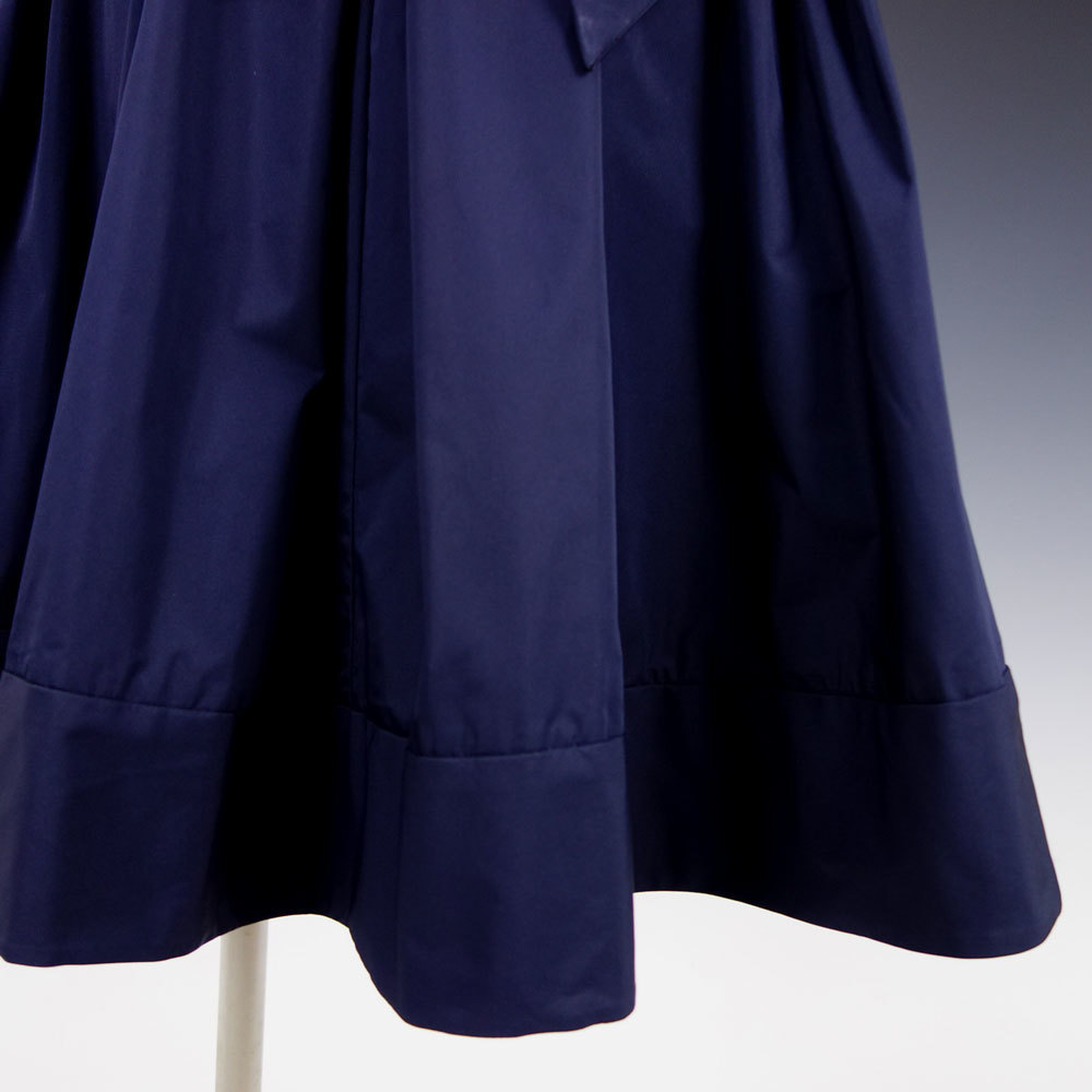 新品 ラルフローレン 10P/15号 紺リボンAライン膝丈 ワンピースドレス ネイビー パーティドレス 結婚式 二次会輝 39J093_画像7