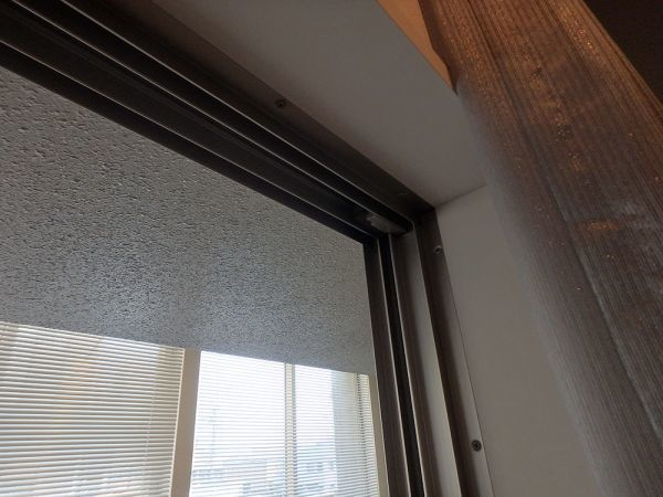 OSY37 展示品 YKK サッシ 窓 4枚 ベランダ 4枚スライド 枠付き 網戸無し W4030 H1970_画像5