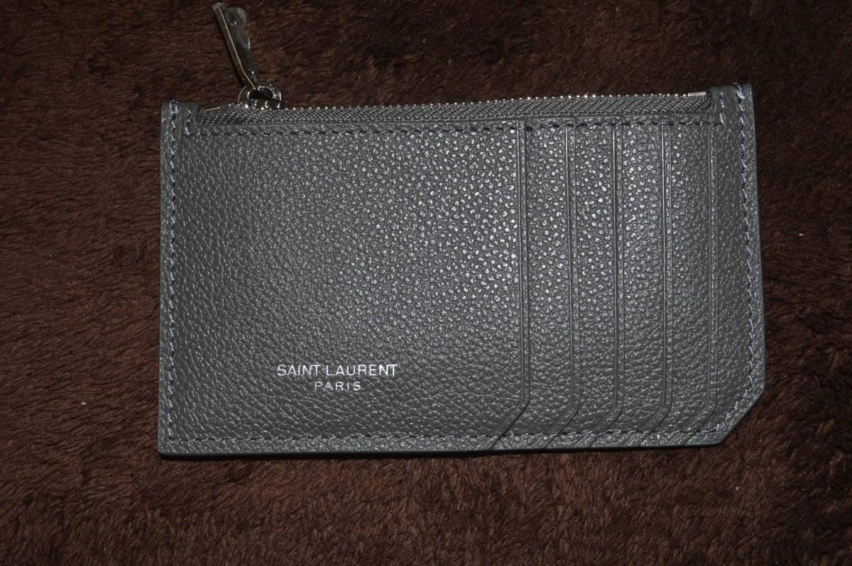 SAINT LAURENT PARIS サンローラン パスケース 小銭入れ カード入れ コインケース
