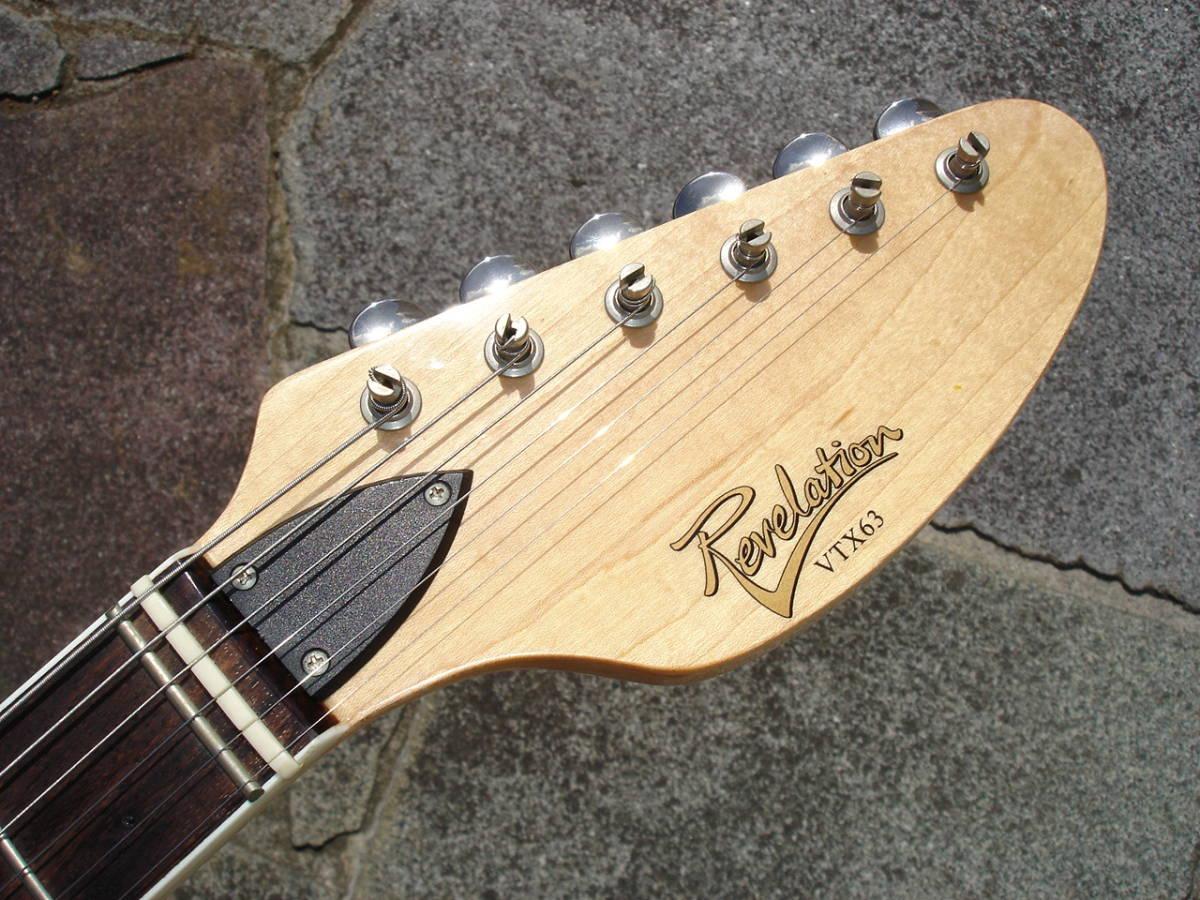 ビザールギターらしくゼロ・フレットです。