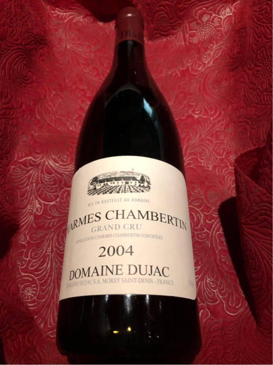 ドメーヌ ドュジャック dujac 2004 シャルムシャンベルタン グラン クリュ 750ml 赤ワイン_画像4