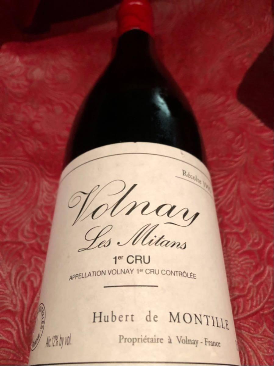 モンティーユ 1995 ヴォルネイ 1er レ ミタン 750ml 赤ワイン_画像1