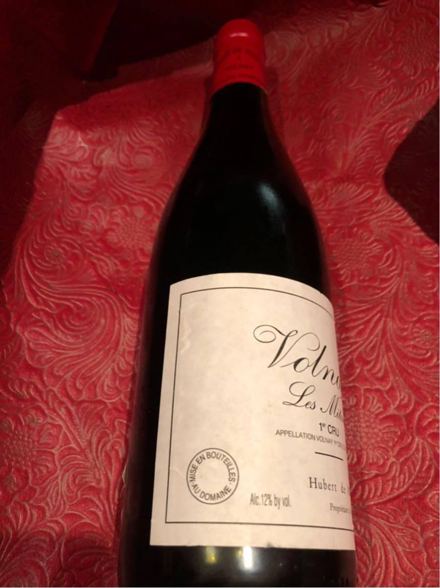モンティーユ 1995 ヴォルネイ 1er レ ミタン 750ml 赤ワイン_画像3