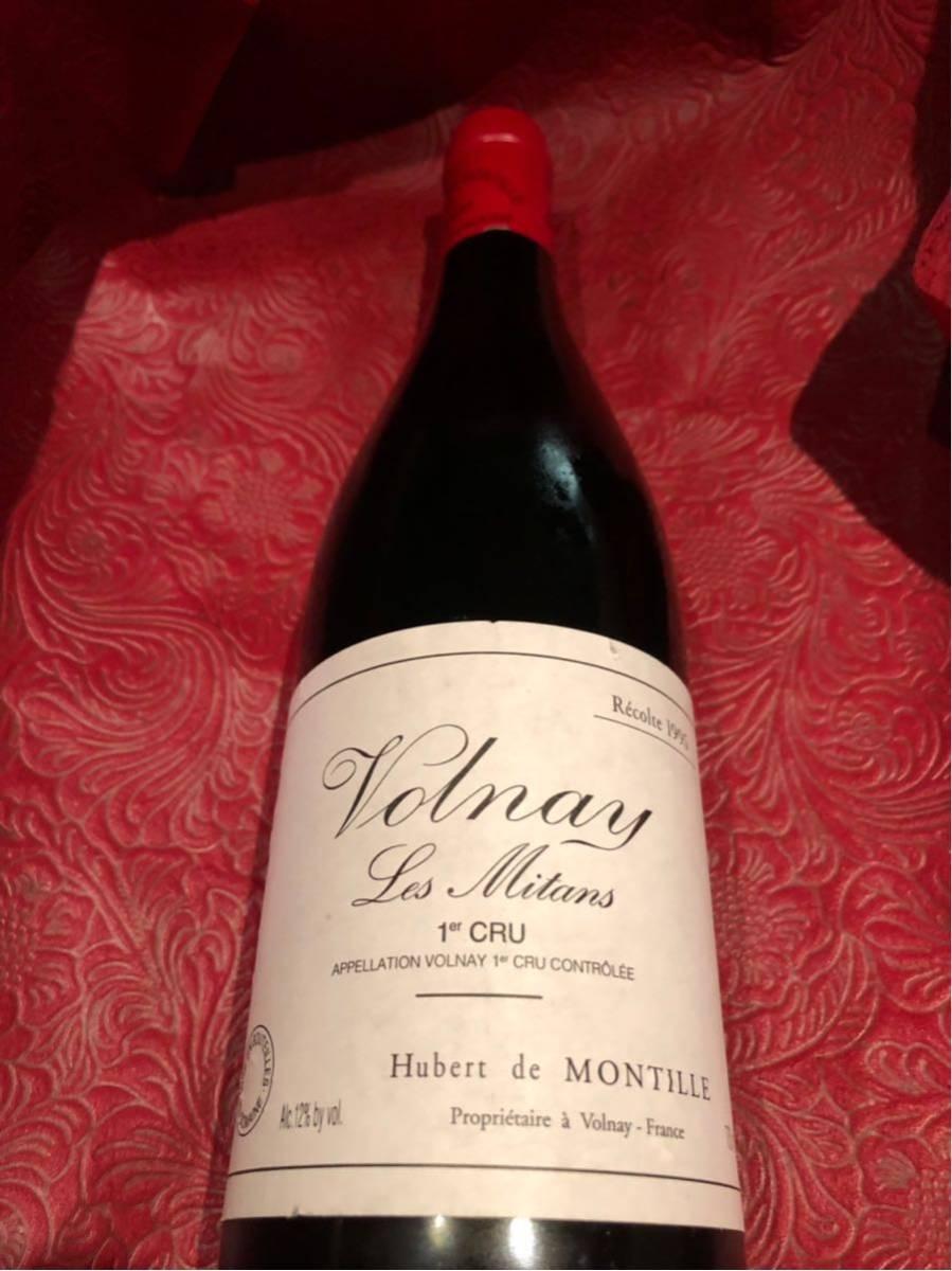 モンティーユ 1995 ヴォルネイ 1er レ ミタン 750ml 赤ワイン_画像2