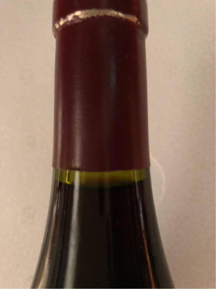 マルキ タンジェルヴィーユ 2004 ヴォルネイ クロ デ デュック 750ml 赤ワイン_画像6