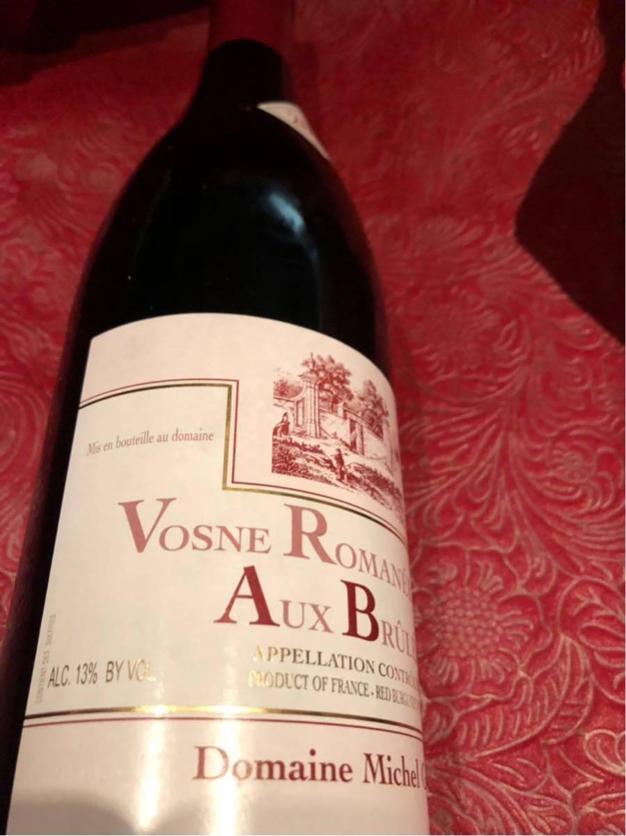 ミッシェル グロ 2011 ヴーヌ ロマネ 1er オー ブリュレ 750ml 赤ワイン_画像3