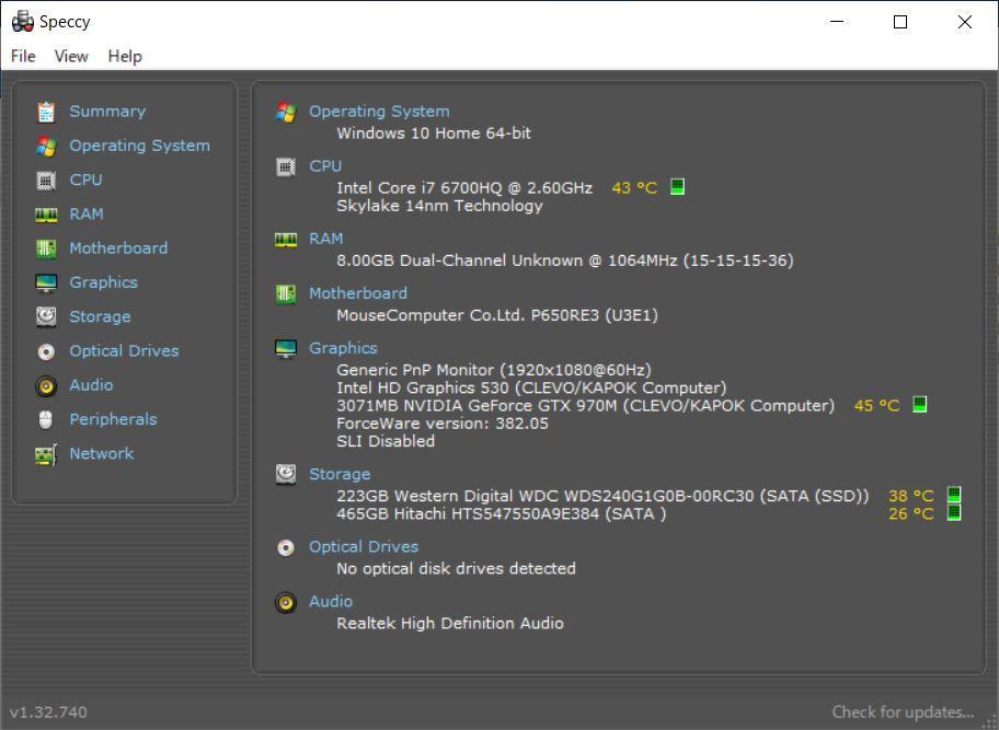 ★☆ゲーミングノートPC i7-6700HQ/GTX970M/新品SSD/FHD液晶 送料無料☆★_画像9