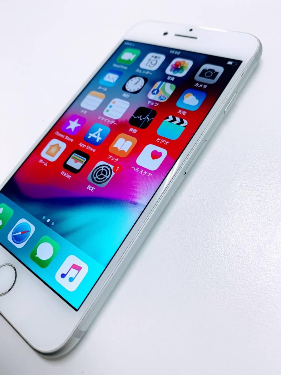 【1円出品/☆美品☆】Apple iPhone7 32GB シルバー SoftBank 判定:〇 ★バッテリー容量92%★(1402/12000)_画像5
