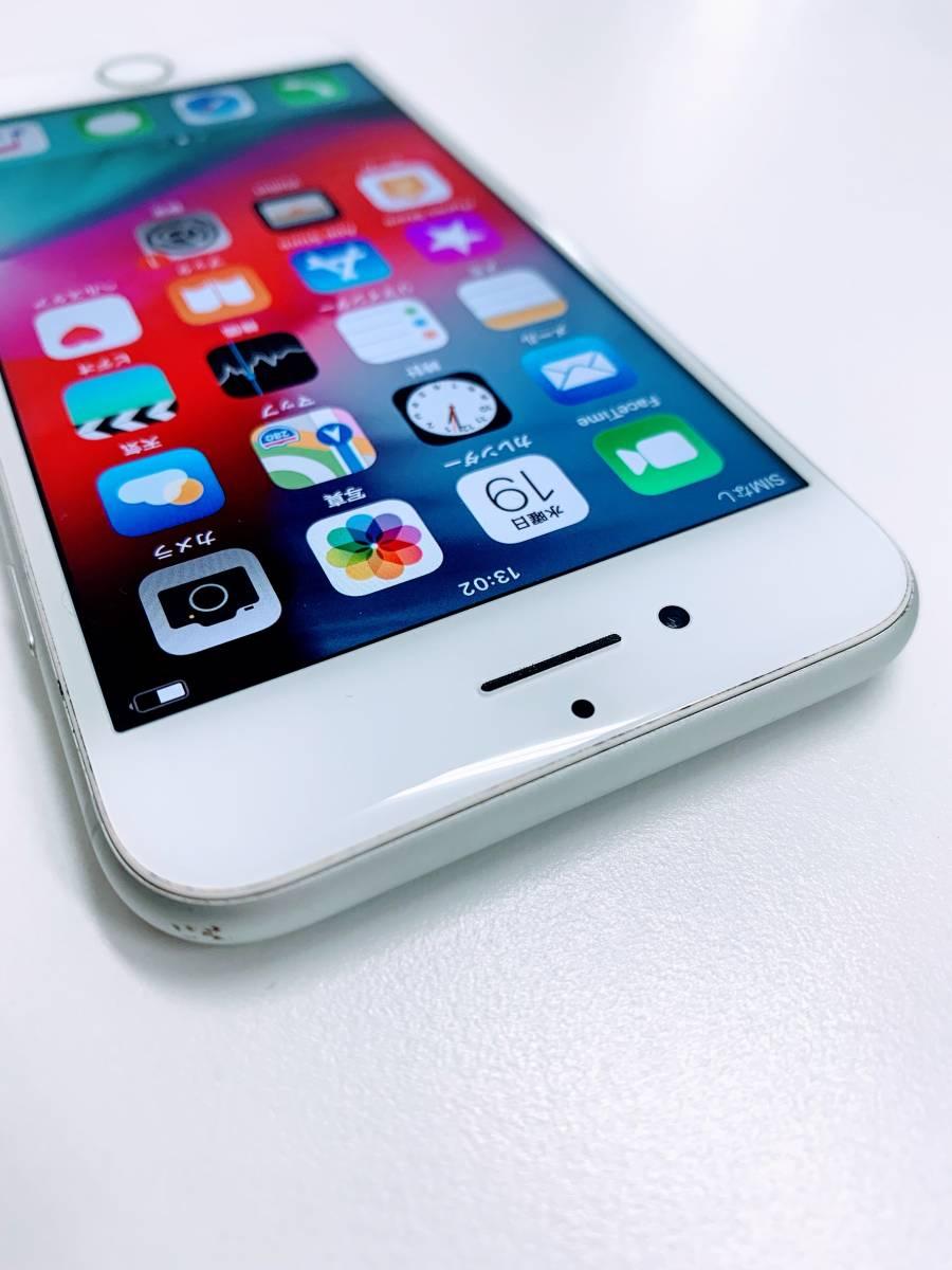 【1円出品/☆美品☆】Apple iPhone7 32GB シルバー SoftBank 判定:〇 ★バッテリー容量92%★(1402/12000)_画像3