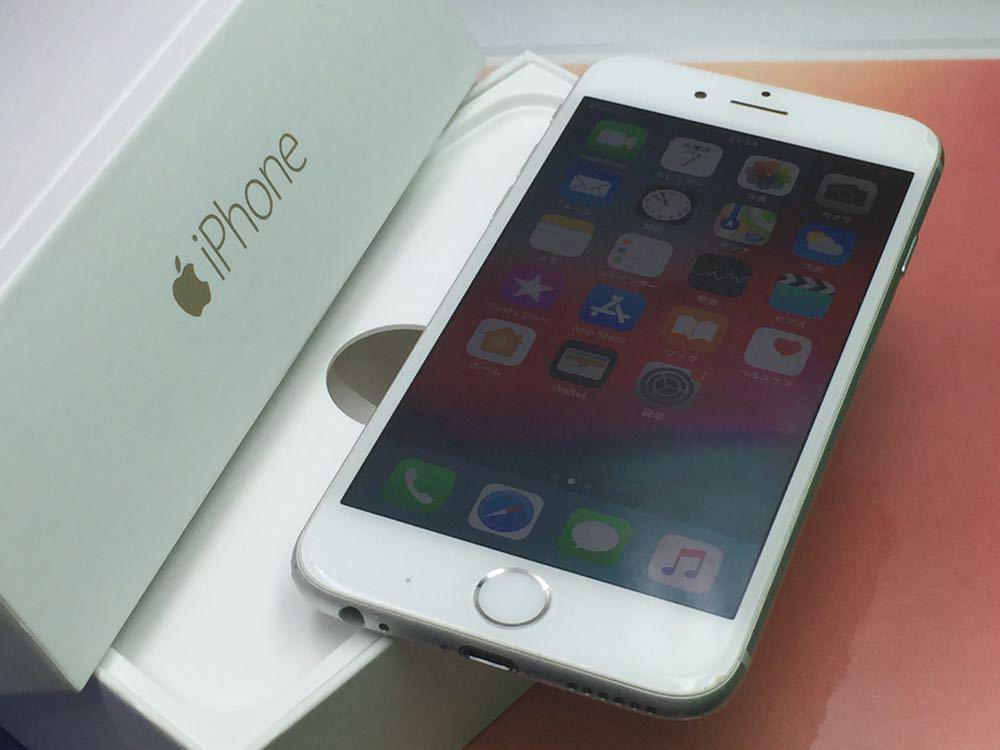良品・ドコモ版・ Apple iPhone 6 16gb・ シルバー