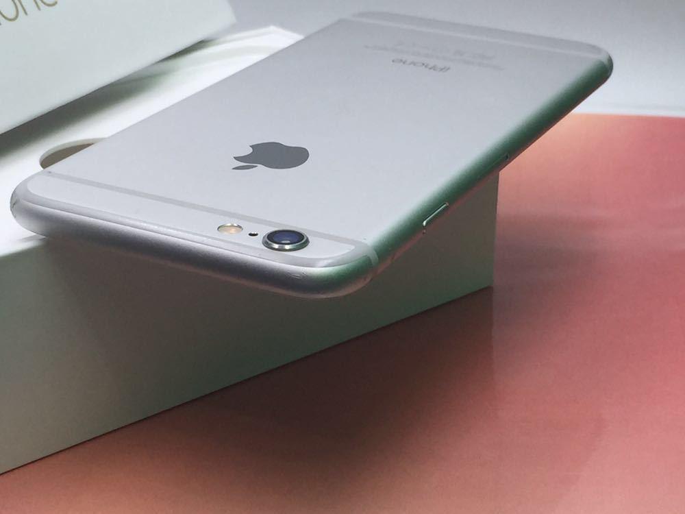 良品・ドコモ版・ Apple iPhone 6 16gb・ シルバー _画像4
