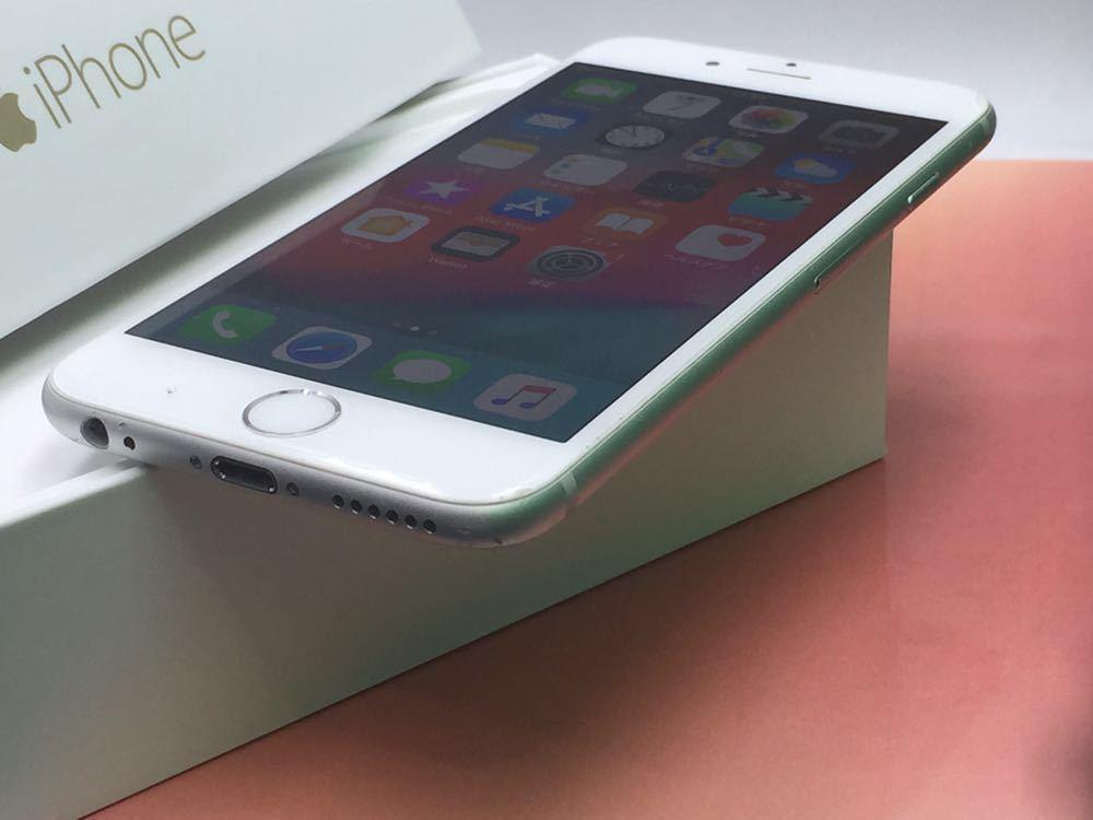 良品・ドコモ版・ Apple iPhone 6 16gb・ シルバー _画像2