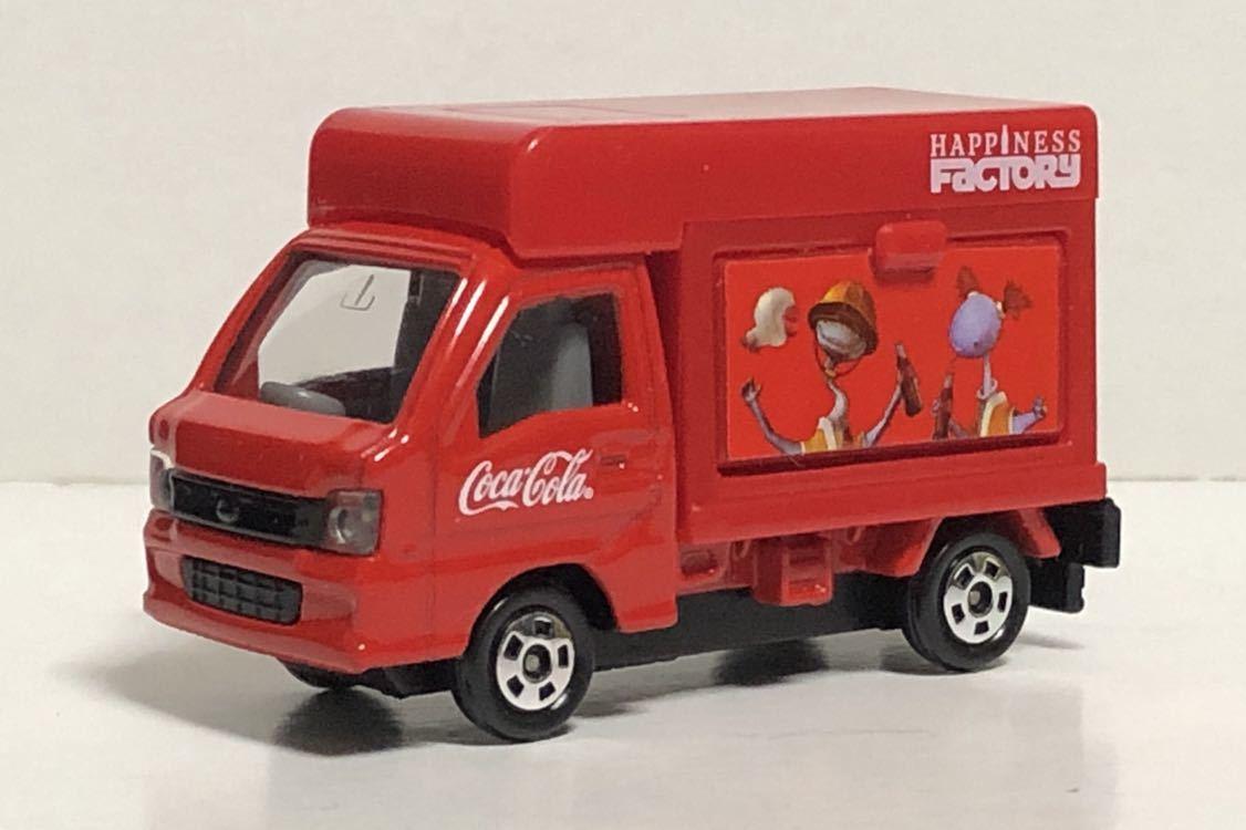 トミカ コカ・コーラ ドリンクカーセット4 スバル サンバー コカコーラ 移動販売車 軽トラ 軽トラック トラック TT1 TT2 絶版 コーラ cora_画像1