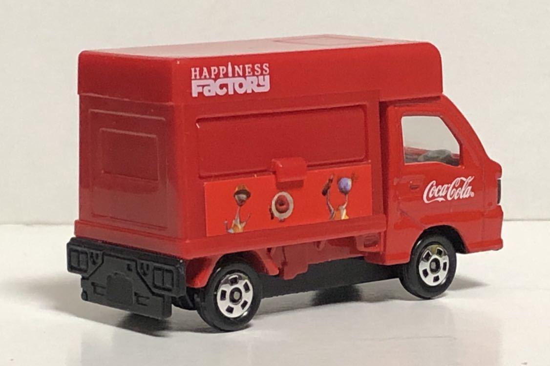 トミカ コカ・コーラ ドリンクカーセット4 スバル サンバー コカコーラ 移動販売車 軽トラ 軽トラック トラック TT1 TT2 絶版 コーラ cora_画像2