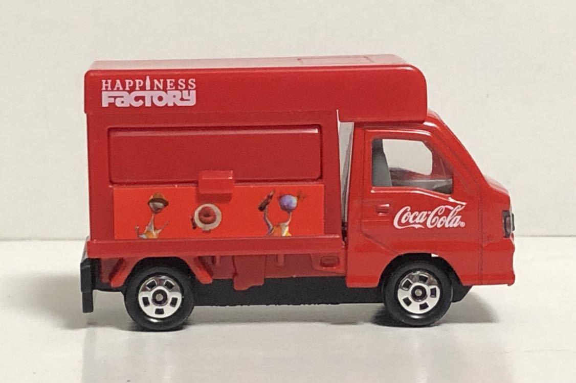 トミカ コカ・コーラ ドリンクカーセット4 スバル サンバー コカコーラ 移動販売車 軽トラ 軽トラック トラック TT1 TT2 絶版 コーラ cora_画像6