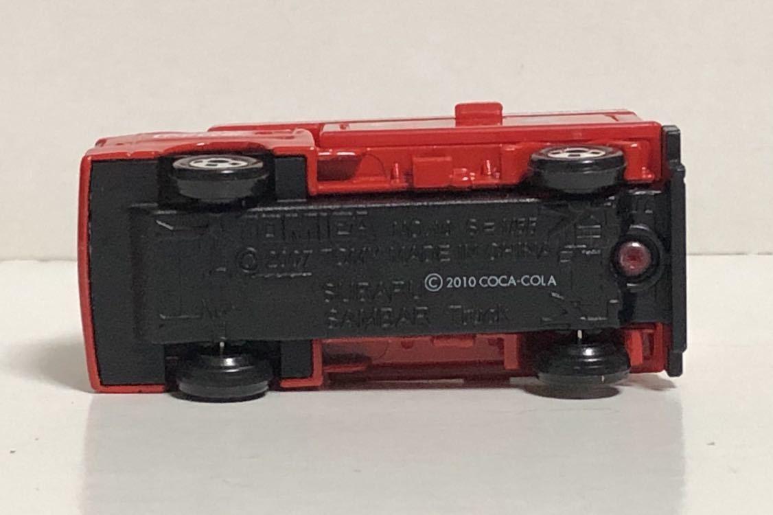 トミカ コカ・コーラ ドリンクカーセット4 スバル サンバー コカコーラ 移動販売車 軽トラ 軽トラック トラック TT1 TT2 絶版 コーラ cora_画像7
