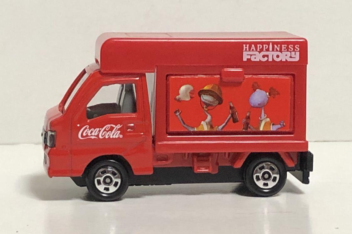 トミカ コカ・コーラ ドリンクカーセット4 スバル サンバー コカコーラ 移動販売車 軽トラ 軽トラック トラック TT1 TT2 絶版 コーラ cora_画像5