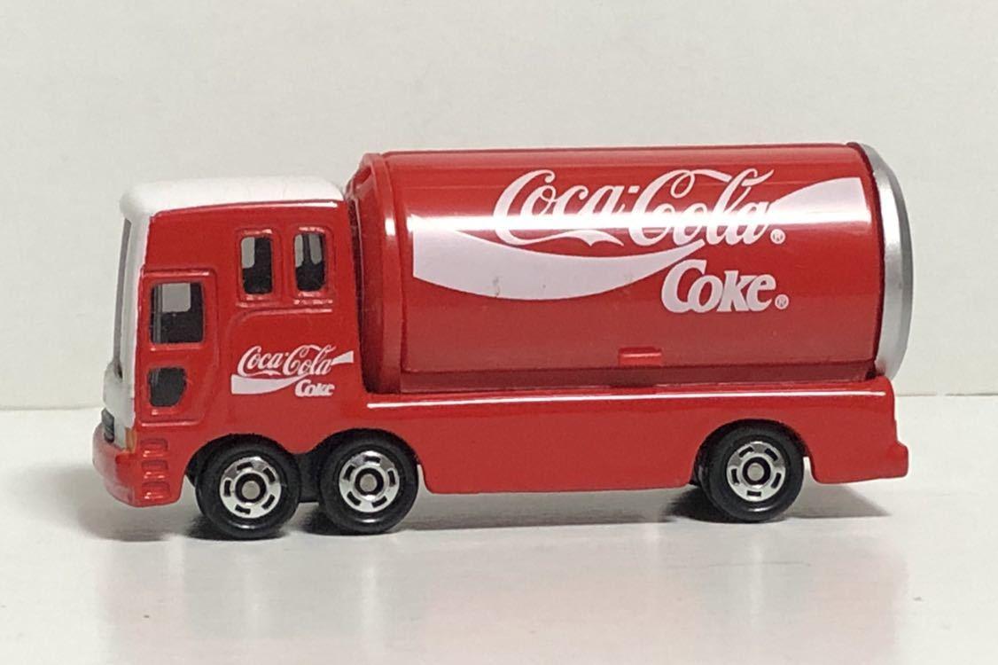 トミカ 37 コカ・コーラ イベントカー ウィング トラック コカコーラ 三菱ふそう 赤箱 絶版 廃盤 希少 細部彩色 細部塗装 レア MITSUBISHI_画像5