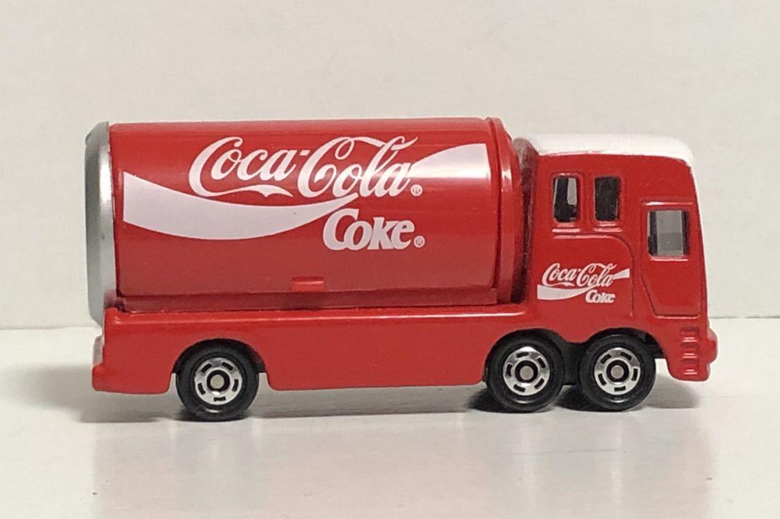トミカ 37 コカ・コーラ イベントカー ウィング トラック コカコーラ 三菱ふそう 赤箱 絶版 廃盤 希少 細部彩色 細部塗装 レア MITSUBISHI_画像6