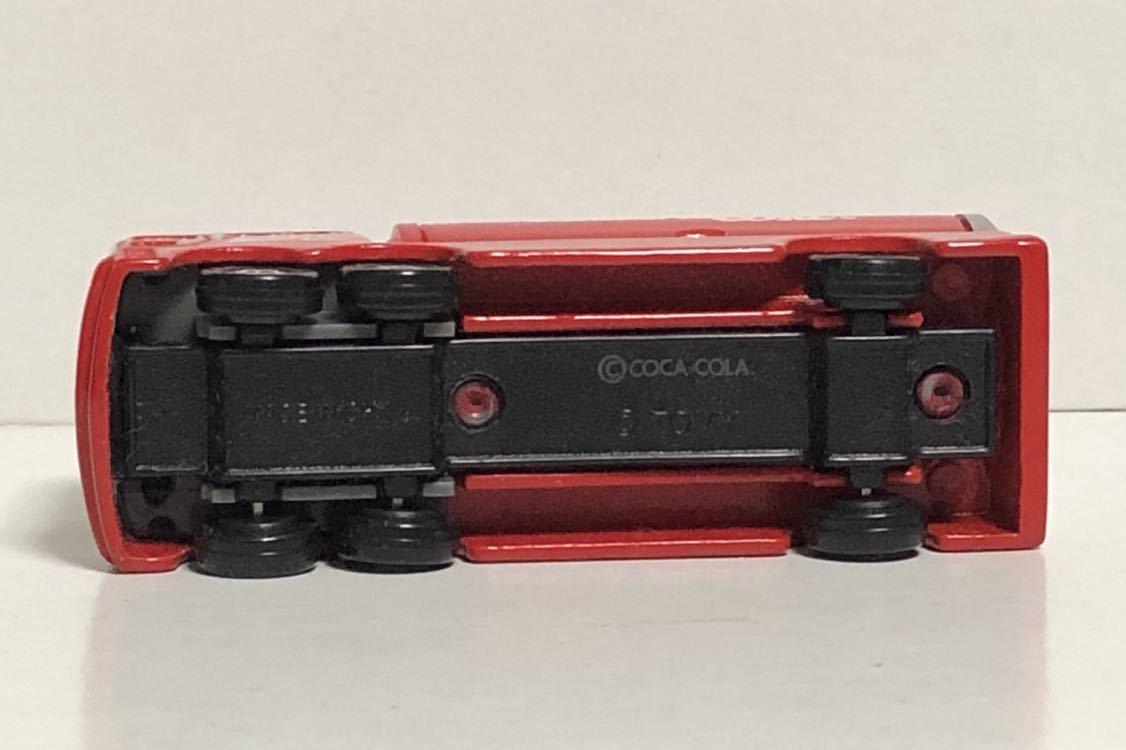 トミカ 37 コカ・コーラ イベントカー ウィング トラック コカコーラ 三菱ふそう 赤箱 絶版 廃盤 希少 細部彩色 細部塗装 レア MITSUBISHI_画像7