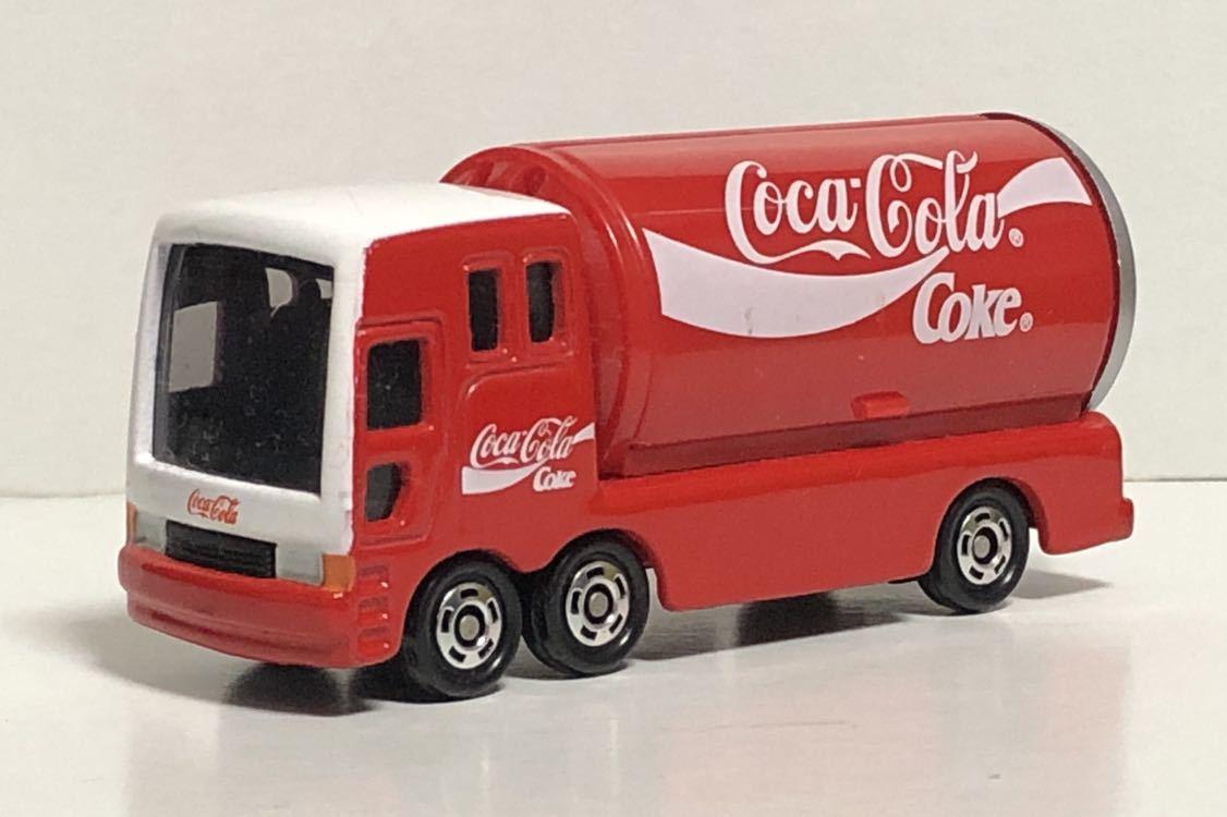トミカ 37 コカ・コーラ イベントカー ウィング トラック コカコーラ 三菱ふそう 赤箱 絶版 廃盤 希少 細部彩色 細部塗装 レア MITSUBISHI_画像1