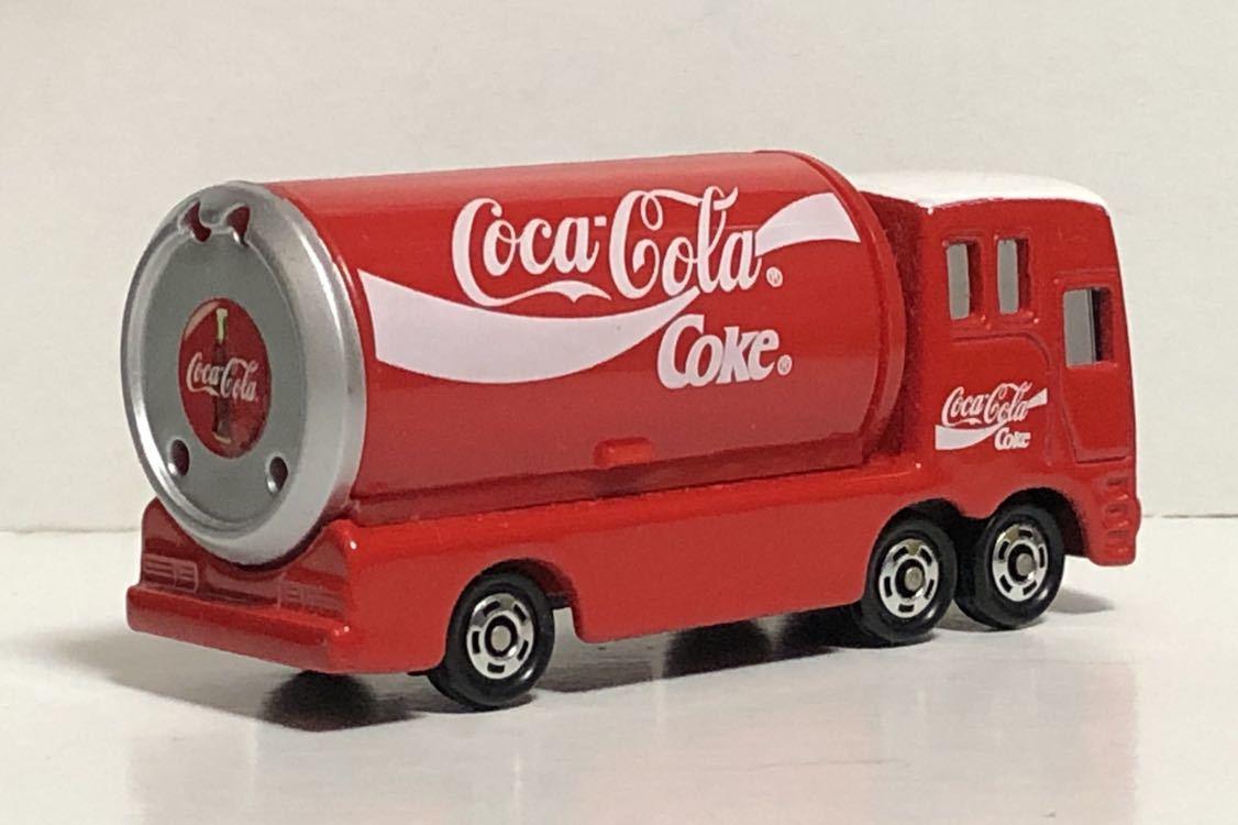 トミカ 37 コカ・コーラ イベントカー ウィング トラック コカコーラ 三菱ふそう 赤箱 絶版 廃盤 希少 細部彩色 細部塗装 レア MITSUBISHI_画像2